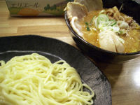味噌つけ麺中盛り+チャーシュー+味玉@やすべえ水道橋店