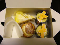 モナムールで購入したケーキ達