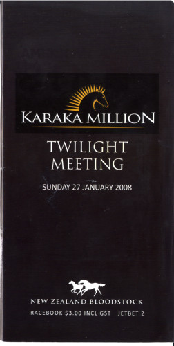 Karaka million racebook
